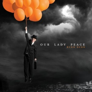 "Our Lady Peace's album cover ""Burn Burn"""