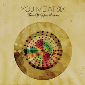 "You Me At Six's album cover for ""Take Off Your Colors"""