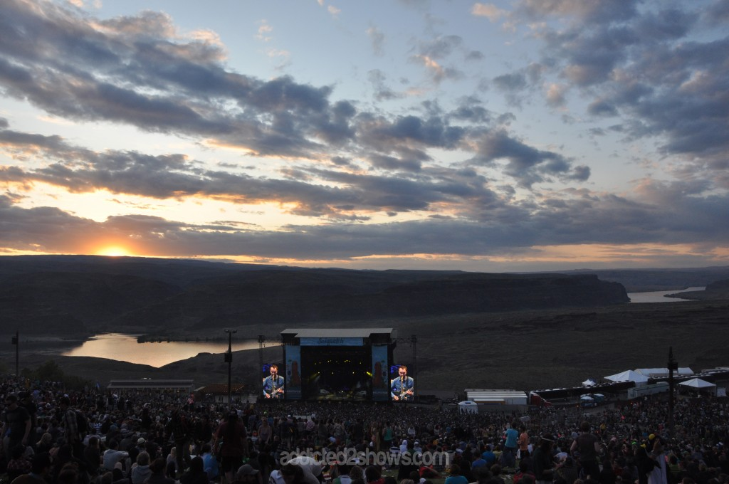 The Shins at Sasquatch