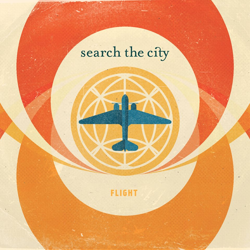 search the city - flight album cover